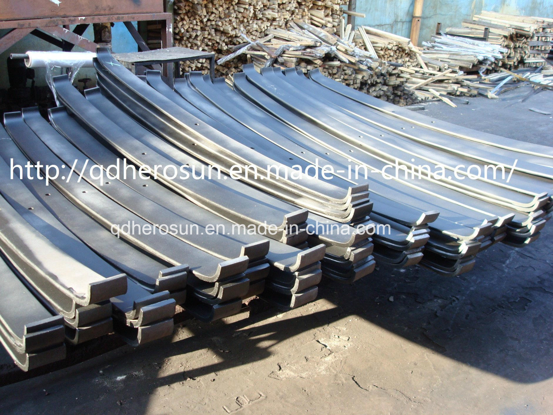 Different Sized Multi Leaf Spring Plates