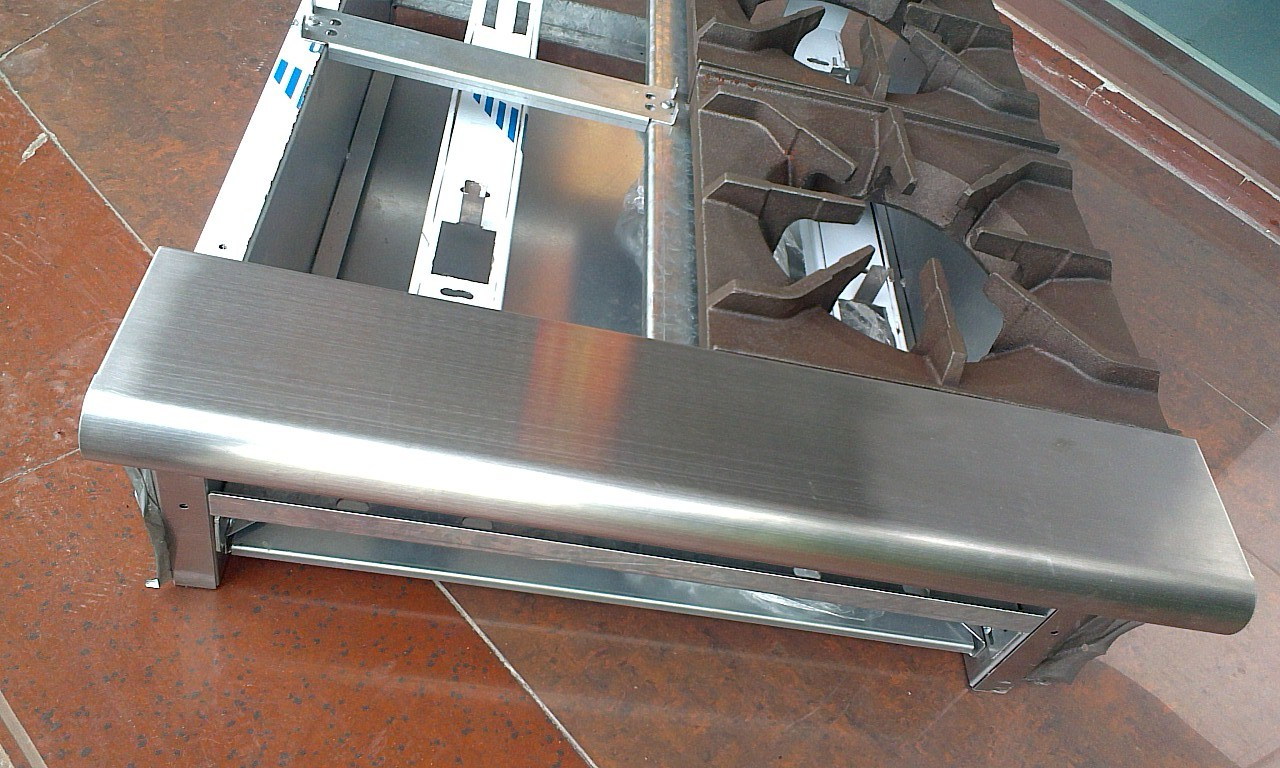 Stainless Steel Cooker Enclosure, Kitchen Stove