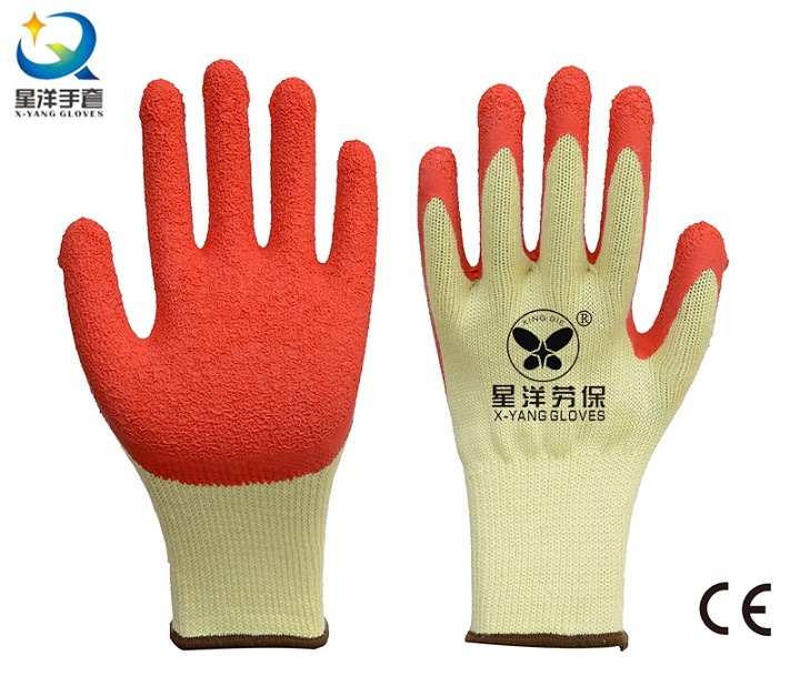 21 Gauge Yarn Latex Palm Coated Safety Glove