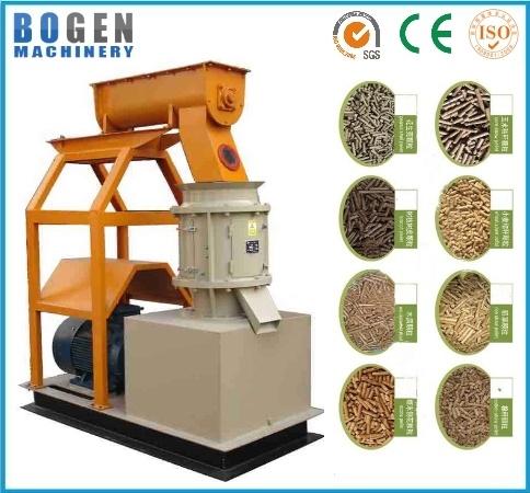 Flat Die Poultry Feed Pellet Making Machine