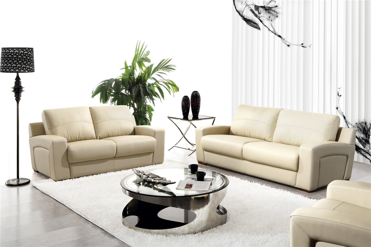 Italy Leather Sofa Sets for Living Room