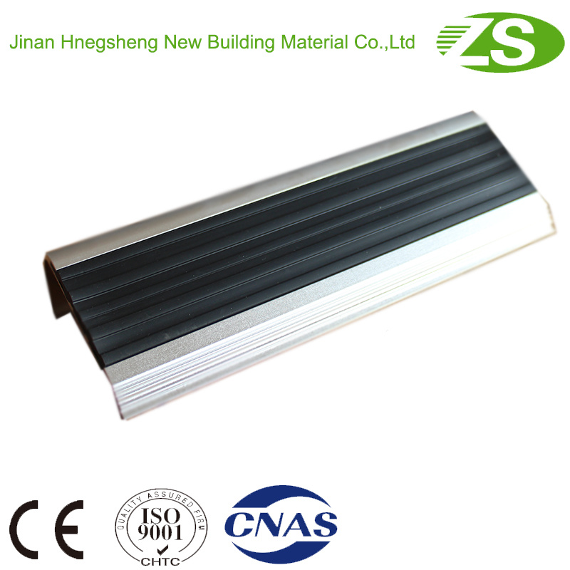 Home Use Safety Aluminum Stair Nosing for Vinyl Floor