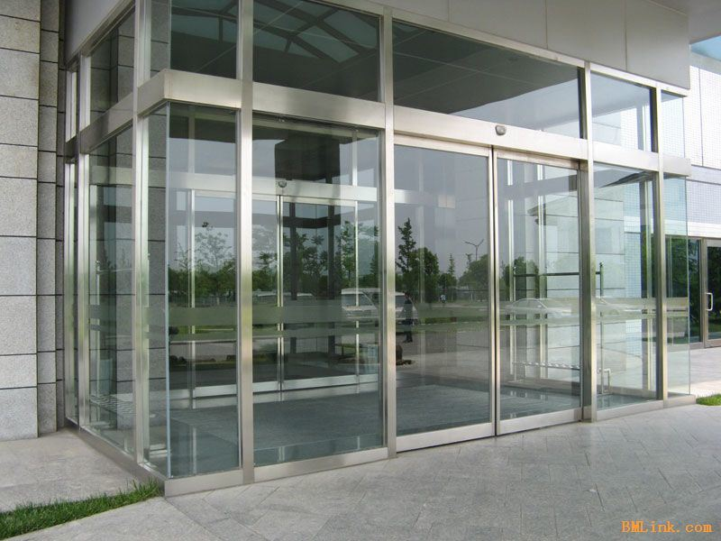 China Luxury Designed InterLocked Building Entrance Use Automatic