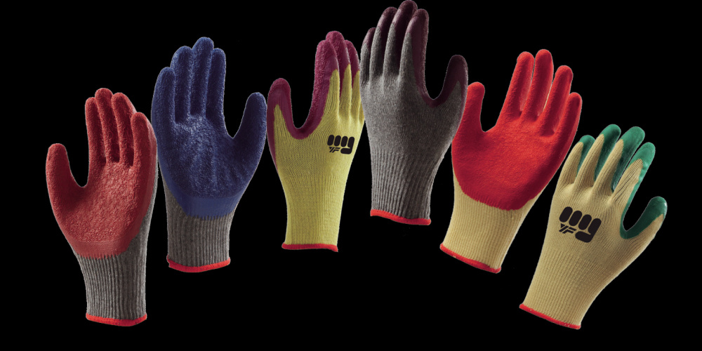 Abrasion Resistant Latex Coated Industrial Safety Working Glove with Grip