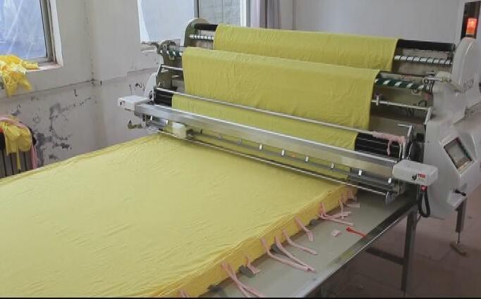 TM 190 Automatic Cloth Spreading Machine Cloth Fabric Spread Machine