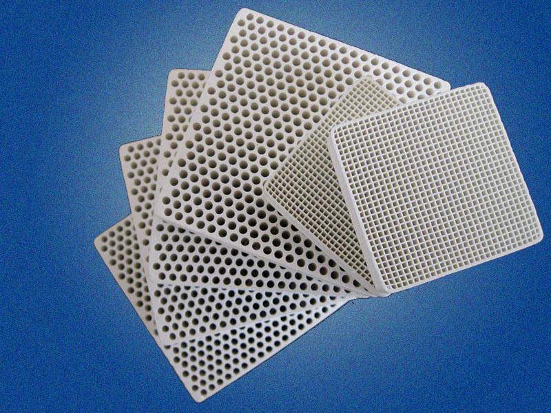 Sic / Cordierite Honeycomb Ceramic Filter Slice (Used In Industry)