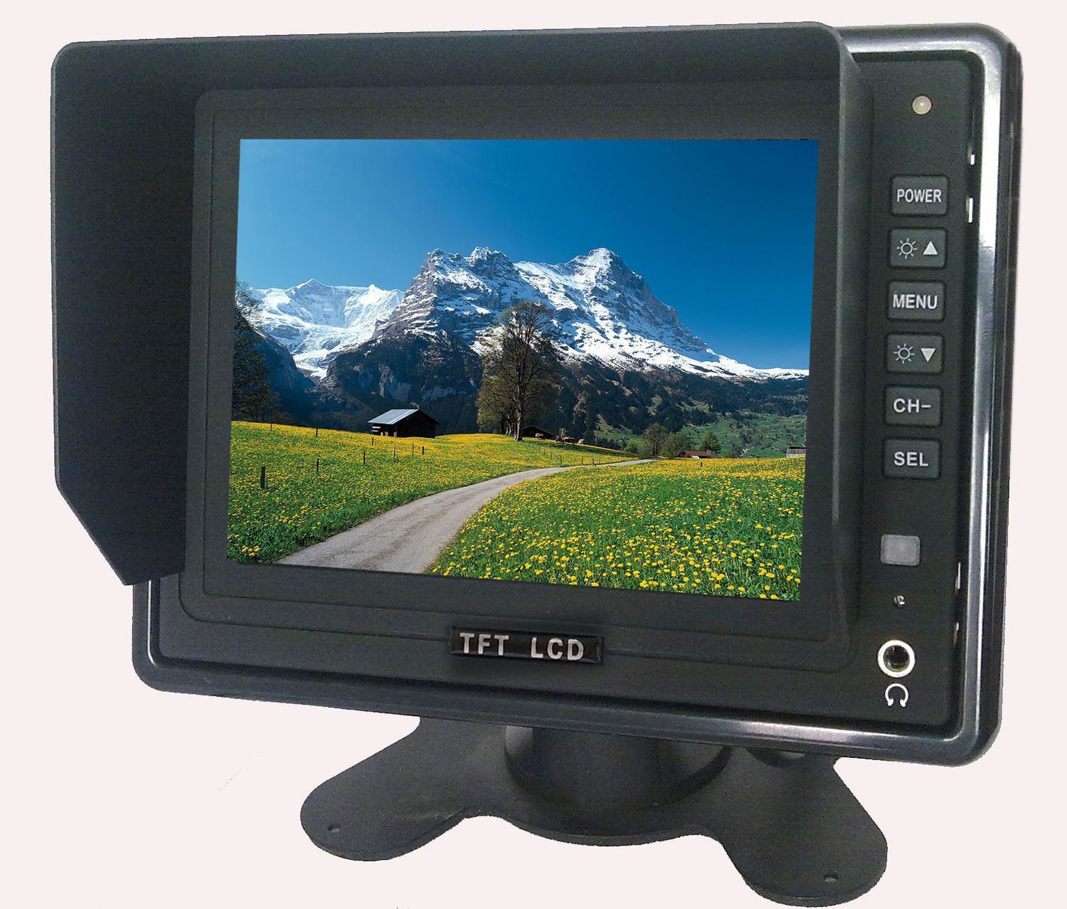 5inch 4: 3 Rear View Car Backup LCD Monitor