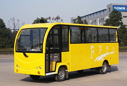22 Seat, Small, Mini, School, Passenger Car, Tour Bus, Electric Shuttle Bus