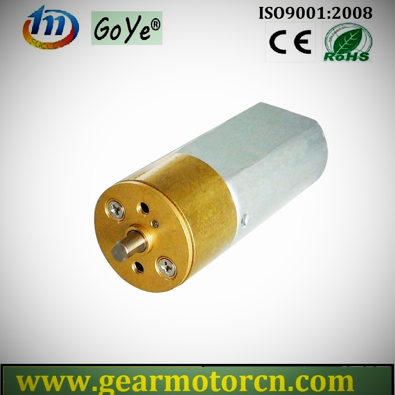 15mm Dia. for Secutiry & Safe Industrial Robtics Electric Valve Mini DC Gear Motor