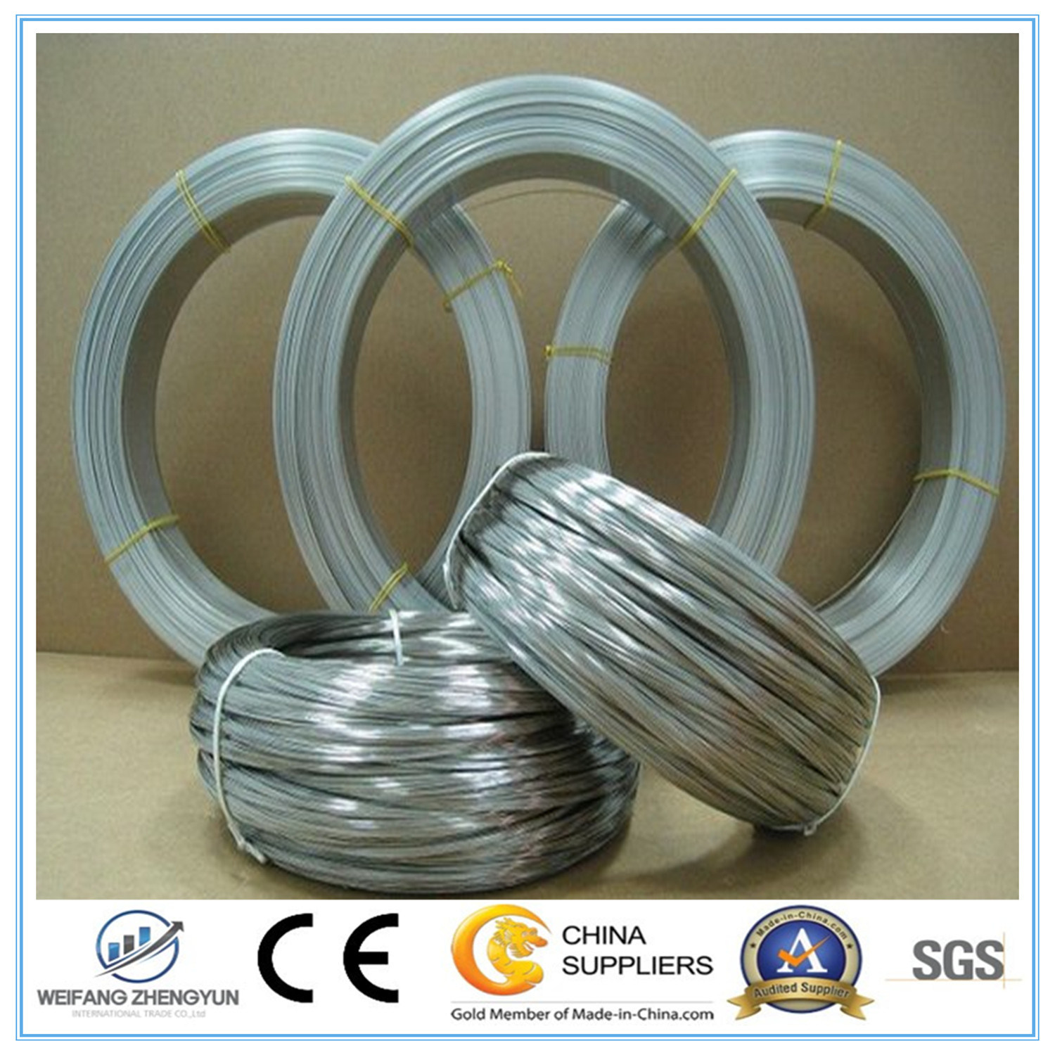 Best Selling Products Galvanizad Wire/Galvanized Steel Wire