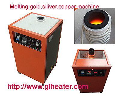 Induction Melting Furnace Melting Small Amount Gold Silver Copper Platinum Bronze etc