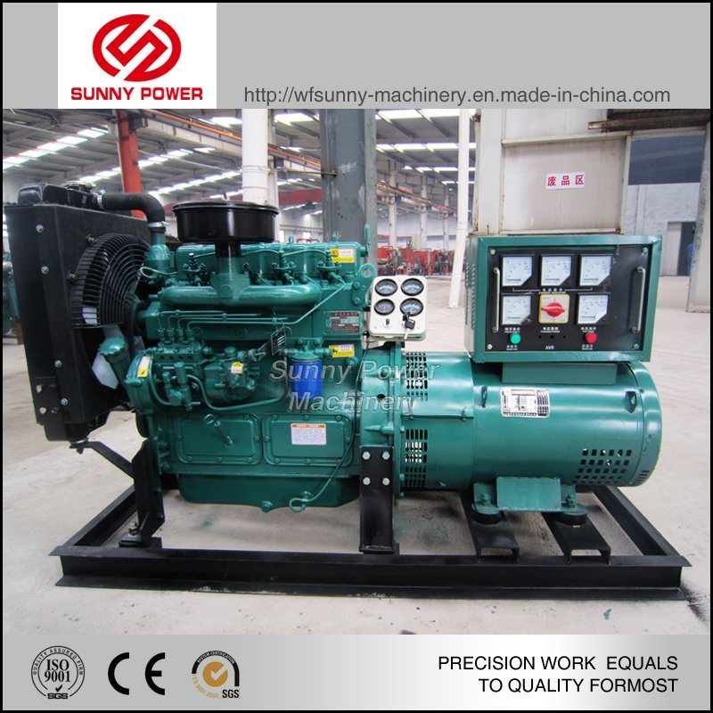 Ce Approved 30kw Cummins Diesel Generator Powered by 4bt3.9-G2
