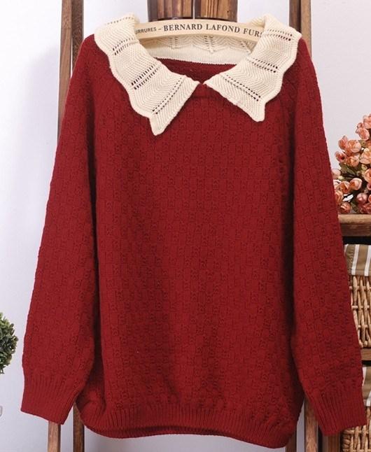 Turtleneck Sweater Girls Pullover (BTQ041)
