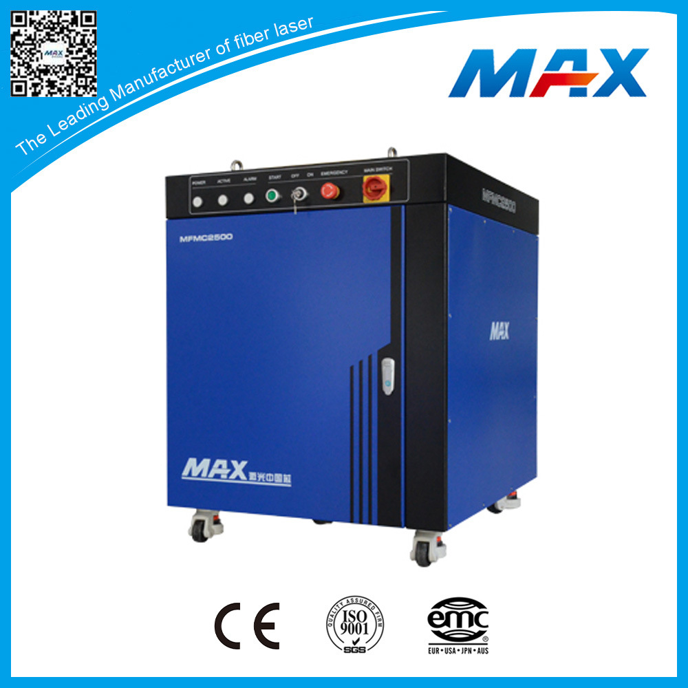 High Power 2500W Multimode Cw Fiber Laser machine for Metal Cutting