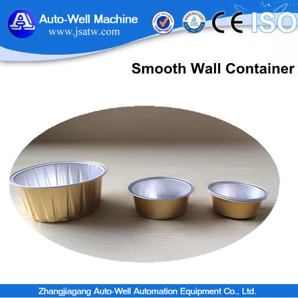 Smooth Wall Microwavable Airline Aluminum Food Tray for Airlines