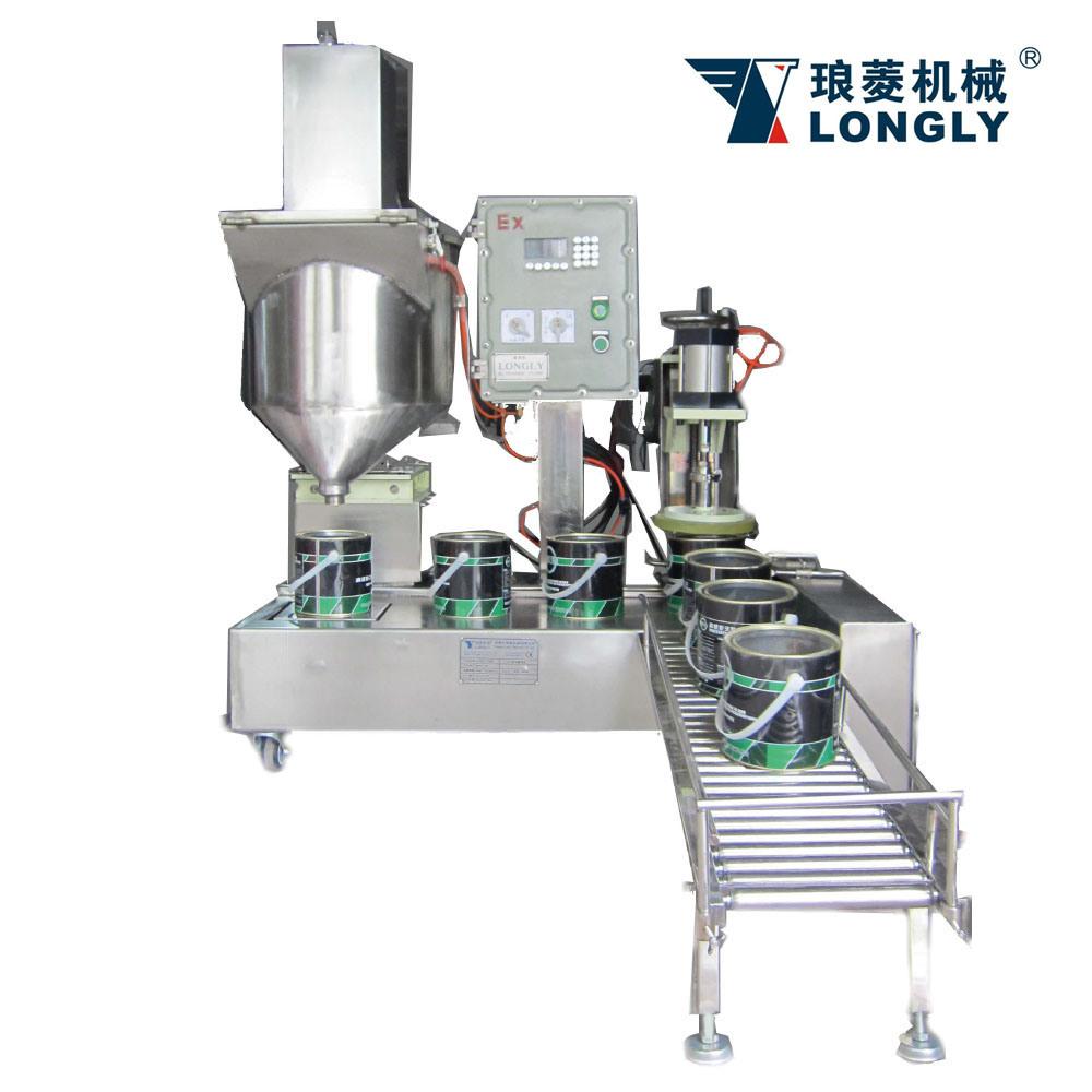 DCS-30U-LT Weighing Type Liquid Filling Machine