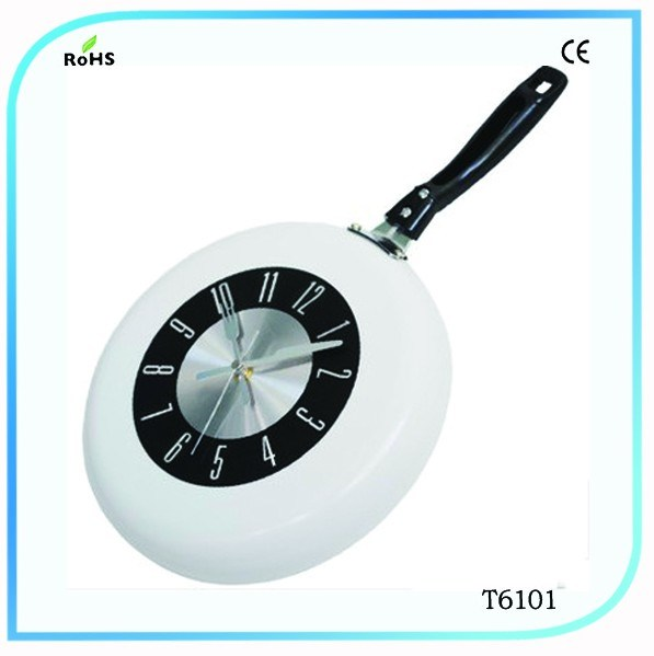 Metal Pan Wall Clock