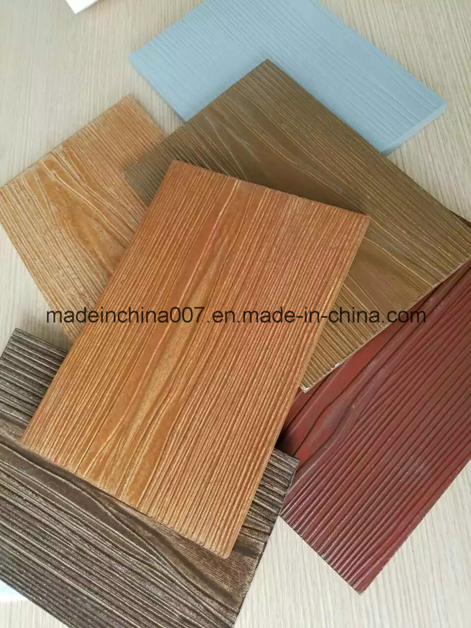 Australian Standard Fiber Cement Siding, Wheather Board, Color Is Available