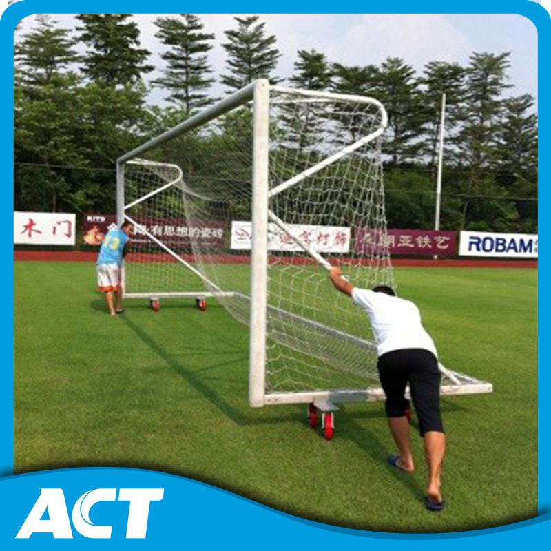 Professional Full Size Football Goal Post / Aluminum Goalpost