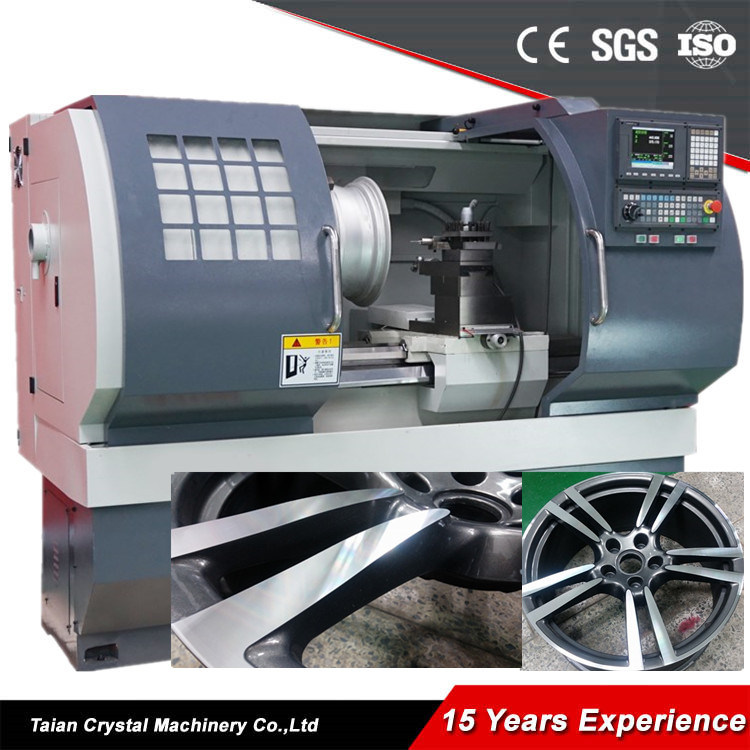 Car Alloy Wheel CNC Lathe Rim Repair Machine Awr2840