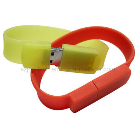 Silicone Bracelet USB Flash Disk for Promotion