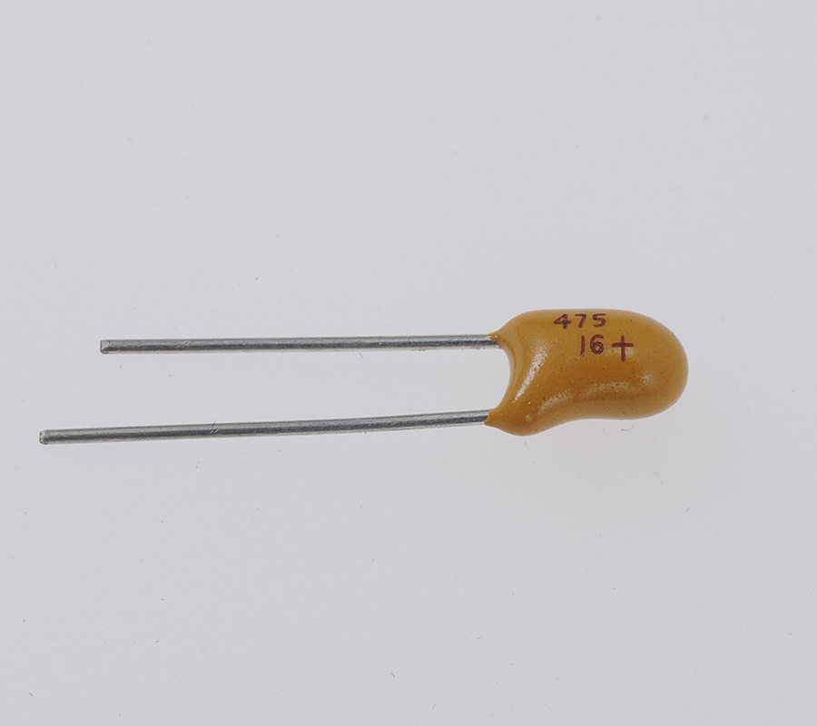 Lead Solid Tantalum Capacitor (Resin Dipped, Radial)