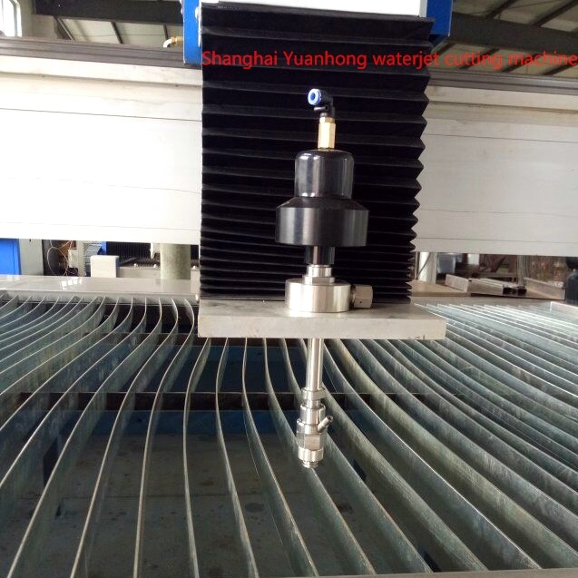 Paser Three Cutting Head for Water Jet Cutting Machine