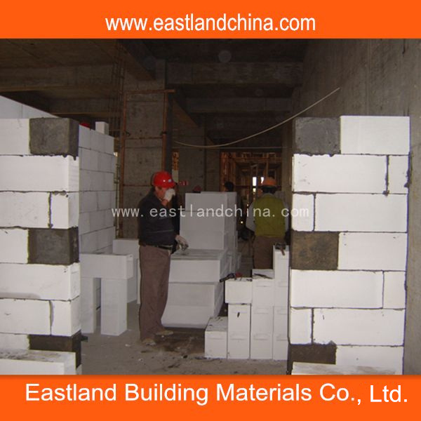 Aerated Concrete Block for AAC Wall Block