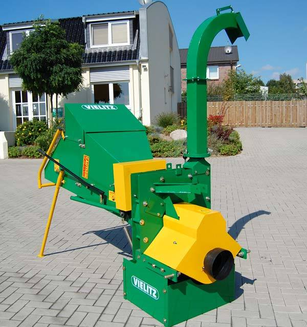 Wc-8 Wood Chipper with TUV Certificate