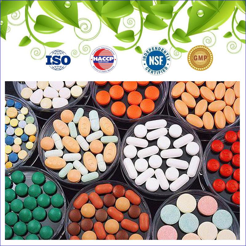 GMP Cetified Health Food Glossy Ganoderma Tablet