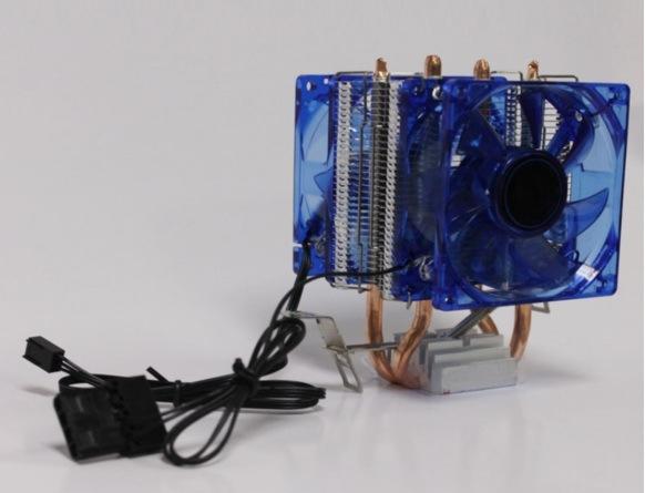 80mm LED PC Cooling Fans