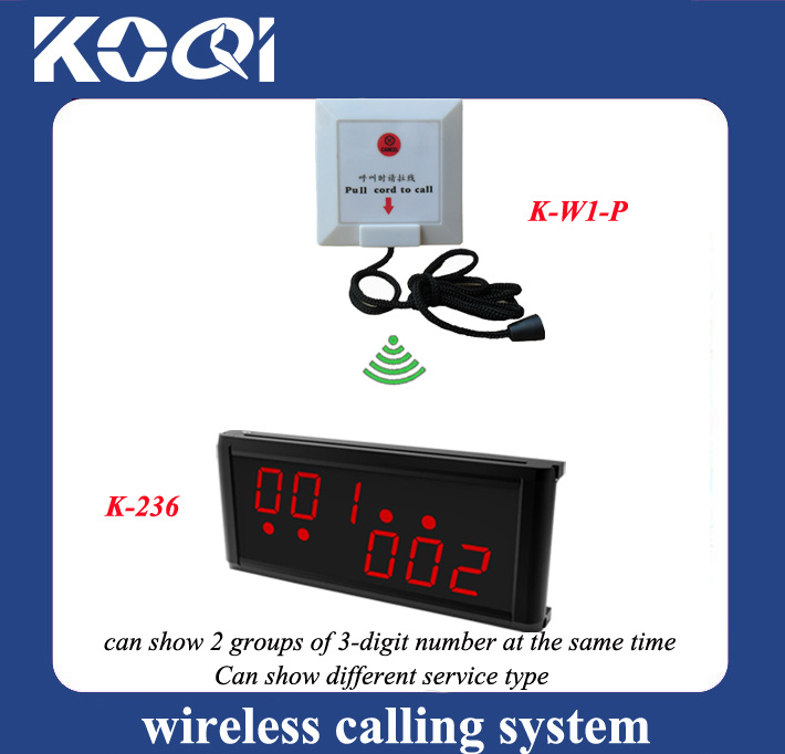CE Approved Wireless Nurse Calling System for Hospital