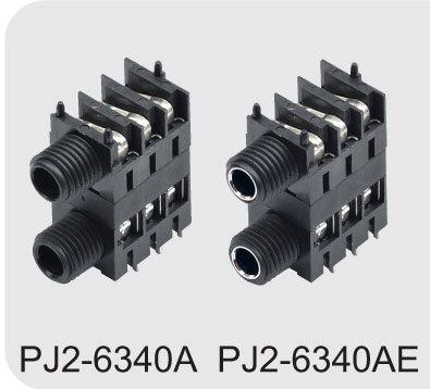 Dual 6.35 Phone Jack (Double jack) (PJ2-6340A/PJ2-6340AE)