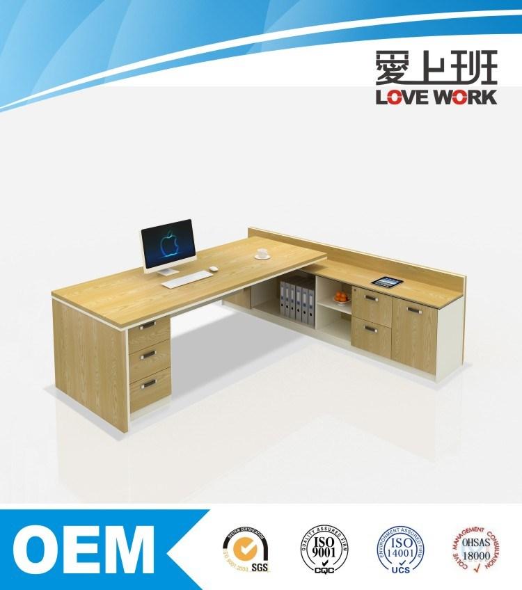 Hot Sale L Shape Modern Office Table (FE-B24)