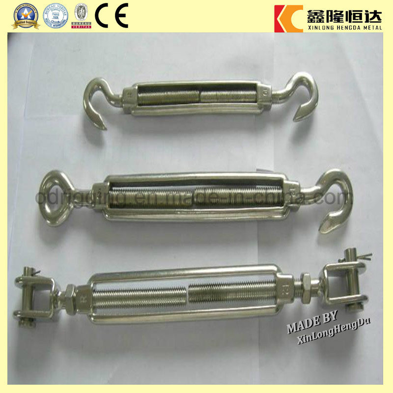 Rigging Hardware: Forged U. S Type Jaw -Jaw Turnbuckles