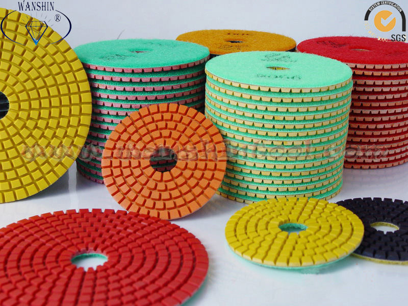 Flexible Wet Polishing Pad Diamond Tool