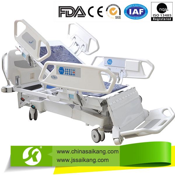 Sk005-1 Advanced Hospital ICU Electric Patient Bed Furniture Equipment