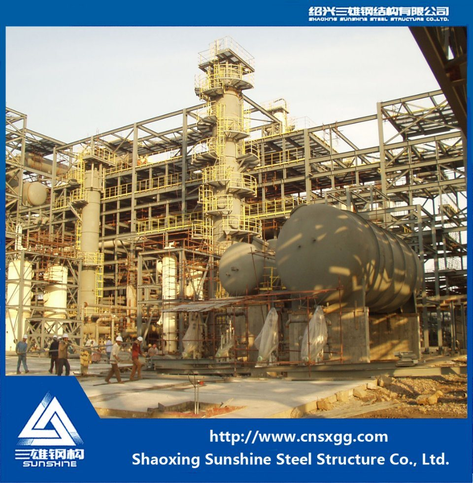 Steel Structure for Chemical Industry