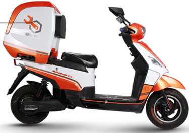 EEC/CE/E Mark Electric Scooter with Big Rear Box for Take-out Service