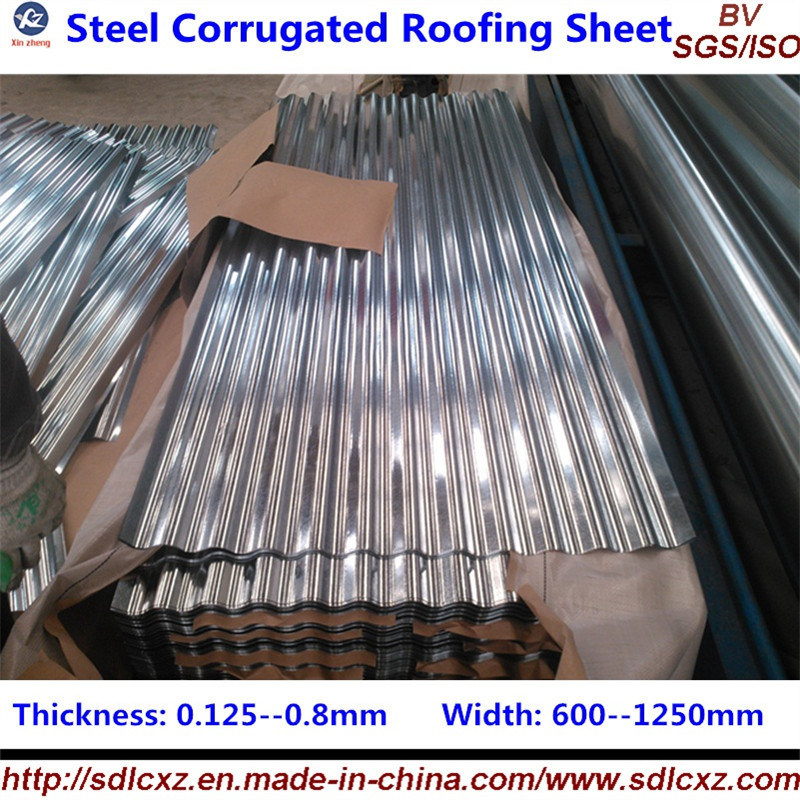 Building Material Steel Roofing Sheet Galvanized Steel Corrugated Roofing Sheet