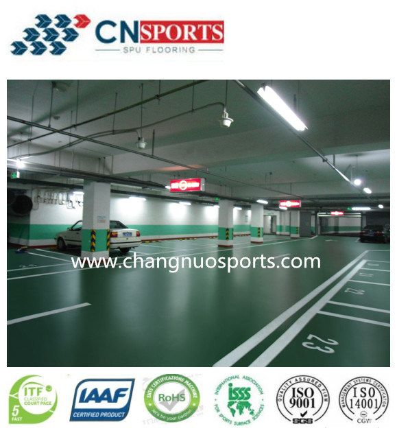 Non-Slip Multifunctional Flooring for Parking Lots, Carport, Garage Ground