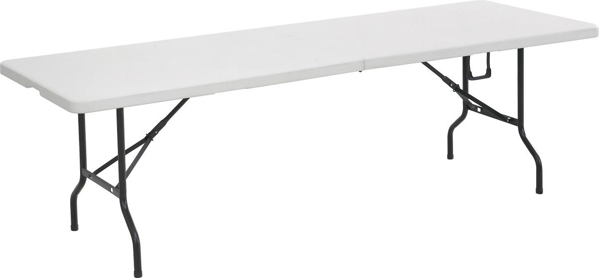 NEW 8FT Fold-in-Half Table (YCZ-243Z)