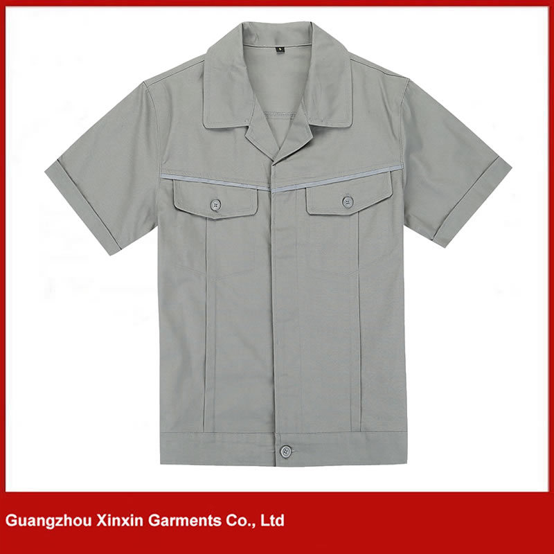 Customized Design Working Wear Clothes for Industrial Worker Safety Uniforms (W98)