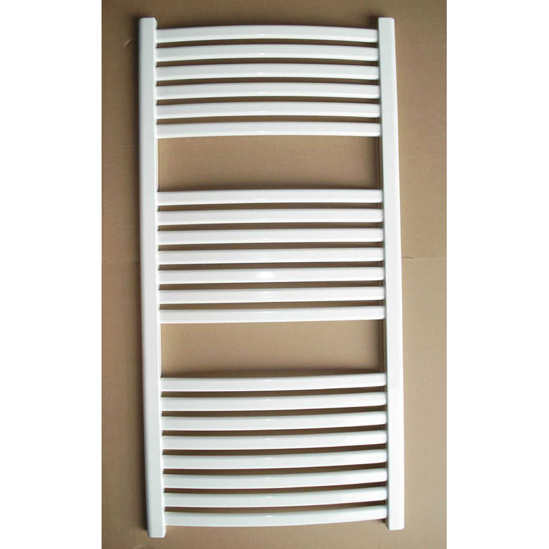 Low Carbon Steel Plastic-Coated Oval Towel Radiator