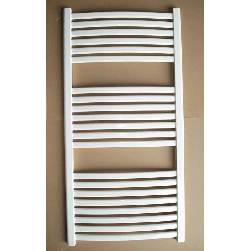 Plastic-Coated Oval Towel Radiator