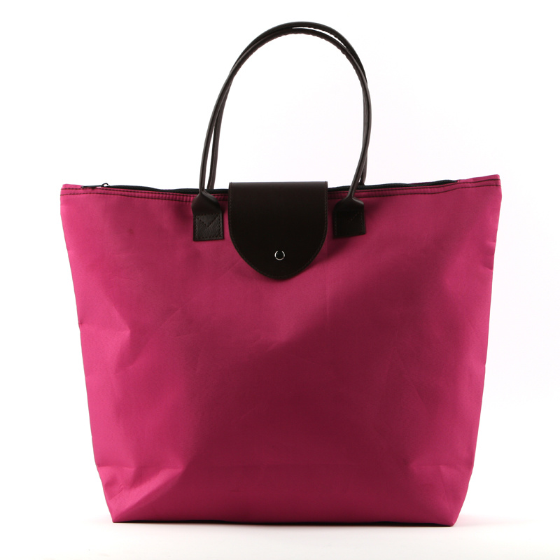 Ladies Foldable Casual Shopping Tote Bag