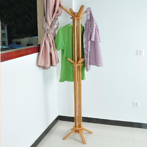 Bamboo Coat Rack Clothing Rack