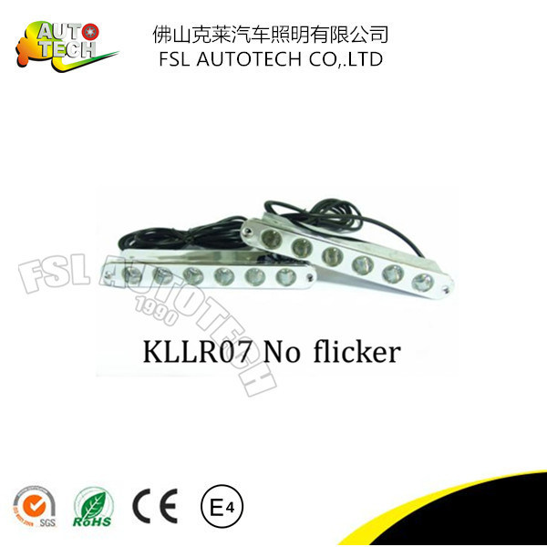 LED Car Daytime Running Light with Flicker Auto Parts