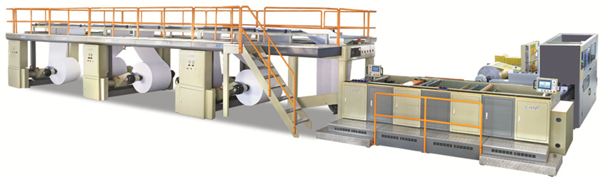 A4/A3 Size Paper Sheeting Machine