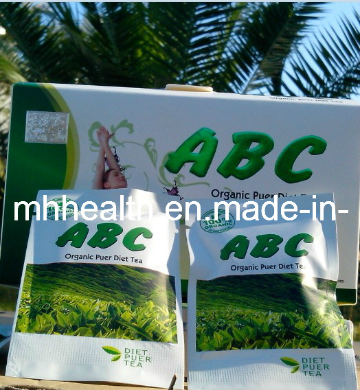ABC Organic Puer Diet Tea, Safe Weight Loss Tea (Mh-144)